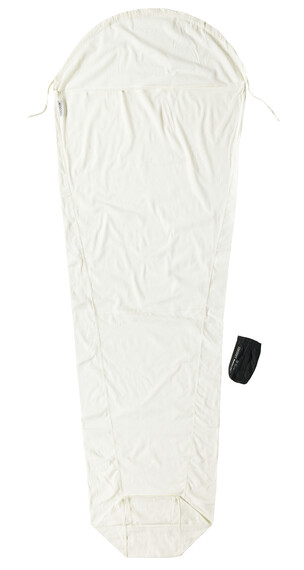 Cocoon MummyLiner Sovsäck Egyptian Cotton vit